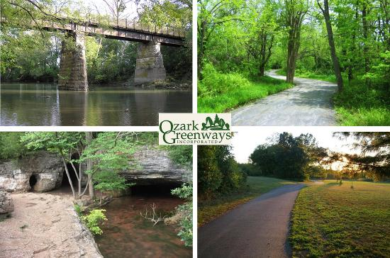 Ozark Greenway Trails in Springfield